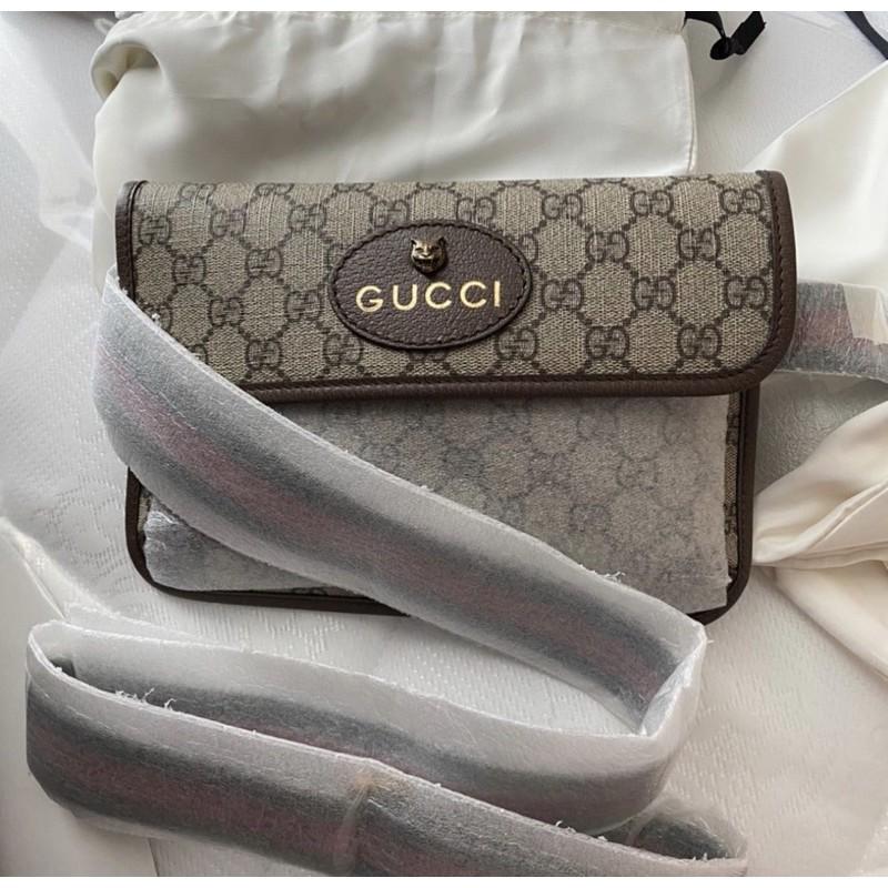 NEW GUCCI Belt Bag GG กระเป๋าคาดเอว / คาดอก สุดฮิต
