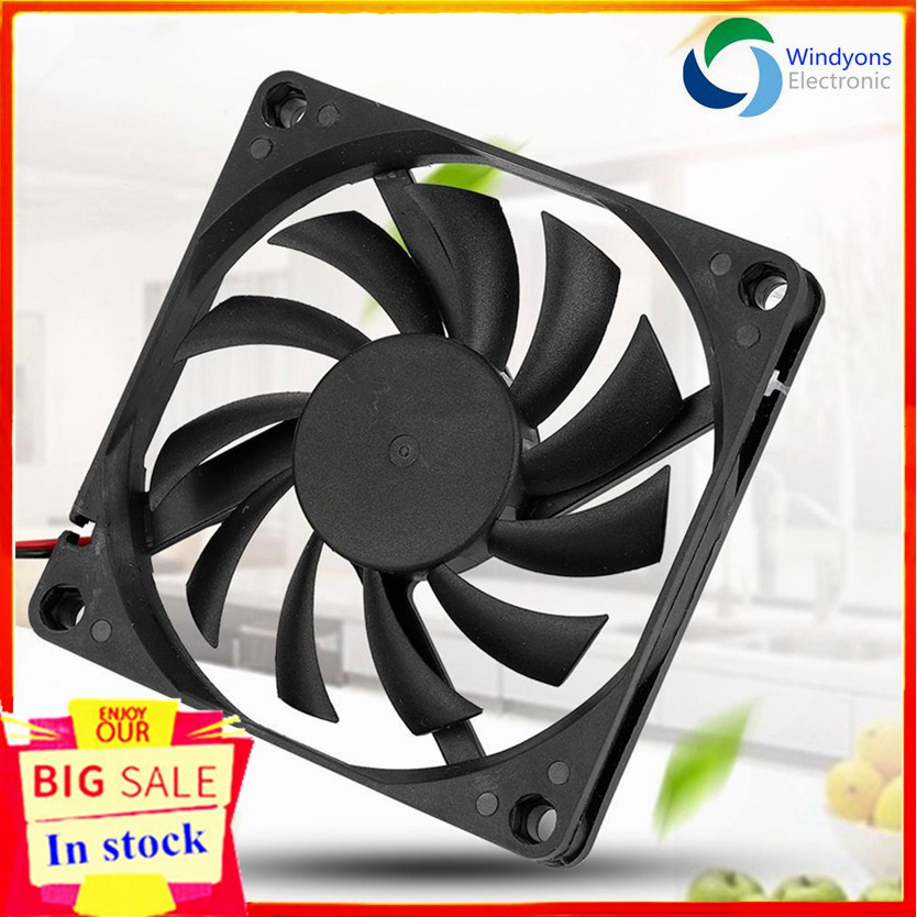 3-4Pin 120mm 15 LED Light Neon Ultra Quite Fans PC Computer CPU Cooling Fan Case