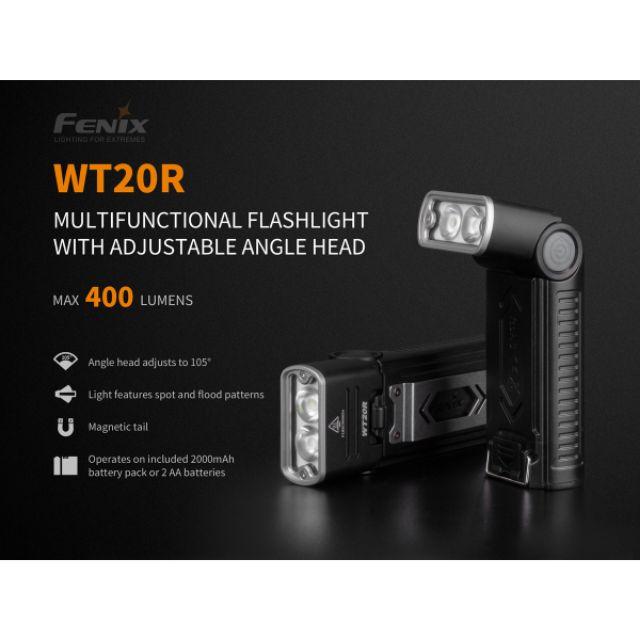 ไฟฉาย Fenix WT20R สินค้ารับประกัน 3 ปี