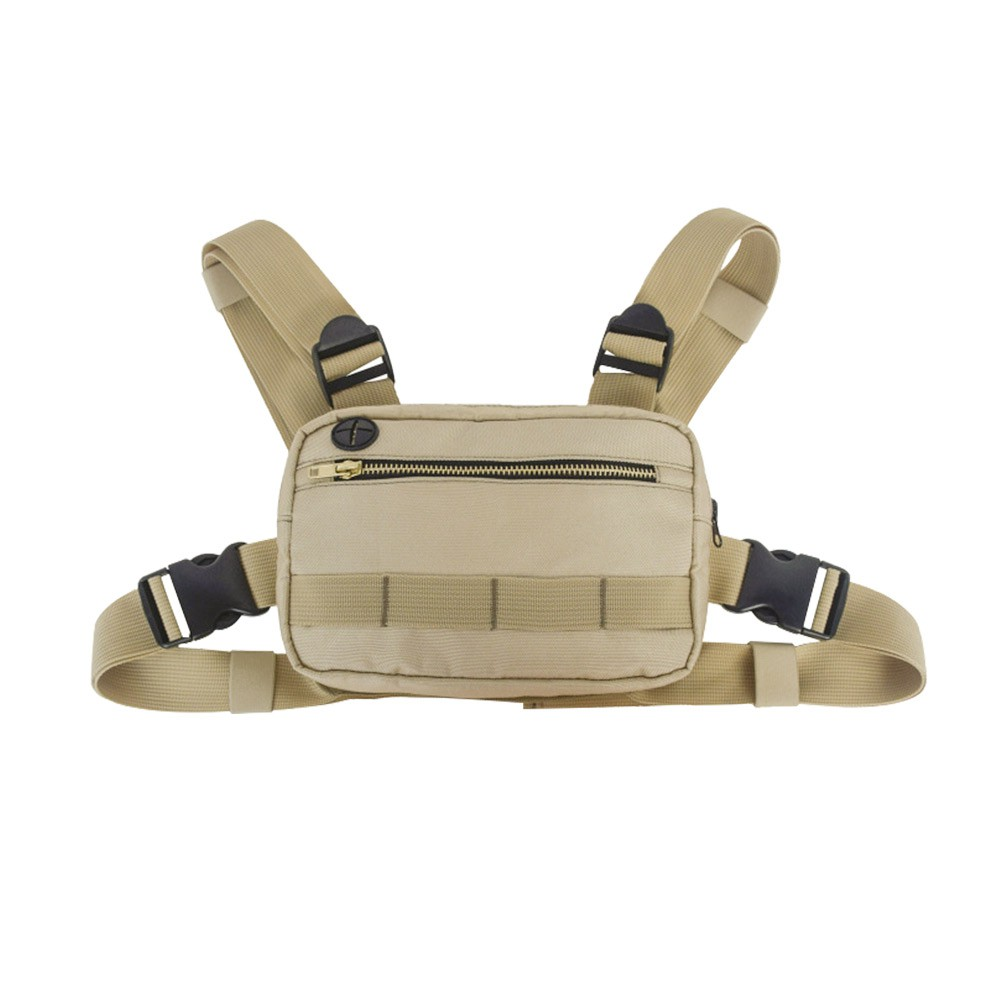 Outdoor Multi-functional tactical camouflage chest bag Cycling Messenger bag