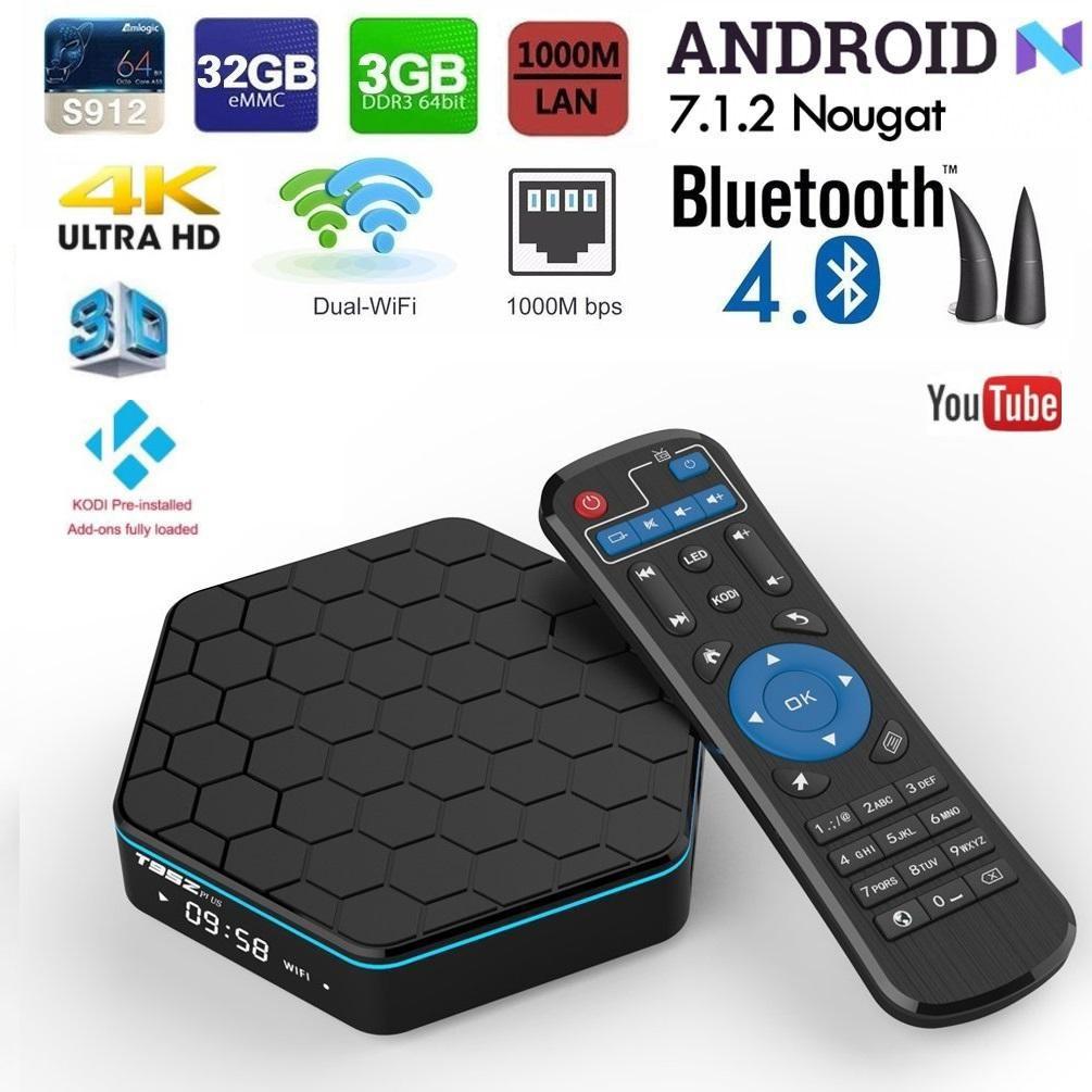 MXQ Pro 4K S905W 64 bit Android 7.1 DDR4 3D Smart TV HD Box 17.6 Mini KEYBOARD