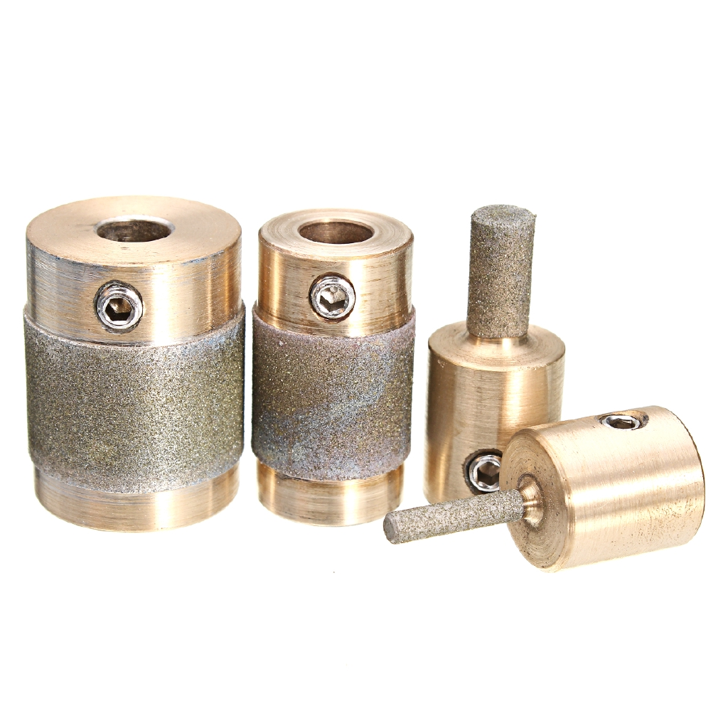 1//4 Diamond Stained Glass Grinder Head Bit Quality Brass Core