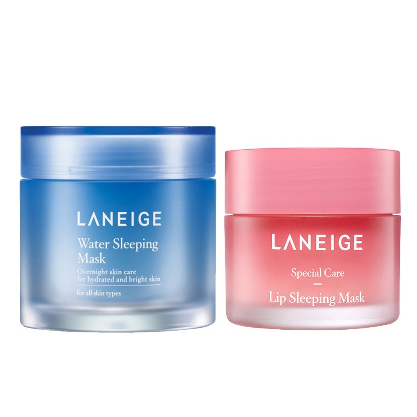 รีวิว Laneige Water Sleeping Mask + Sleeping Mask with Lip Brush  ใหม่ล่าสุด