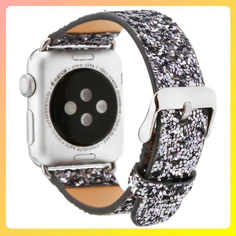 สายนาฬิกาข้อมือหนังสําหรับ Applewatch Iwatch