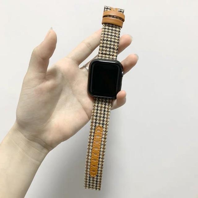 สายApplewatch สายนาฬิกา สายหนัง สายนาฬิกา 38mm 40mm 42mm 44mm series 1/2/3/4/5/6 SE