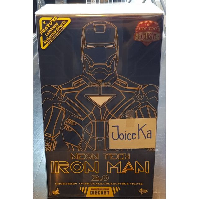 HOT TOYS MMS523D29 IRON MAN 2 : NEON TECH IRON MAN 2.0