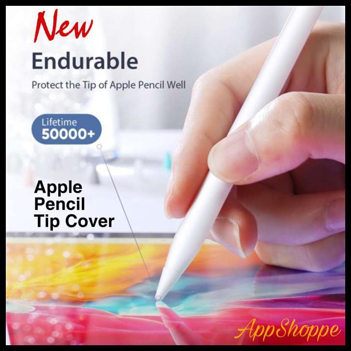 เคสป้องกันสําหรับ Apple Pencil Gen 1 2 Tip 8 ชิ้น/แพ็ค Akt-373