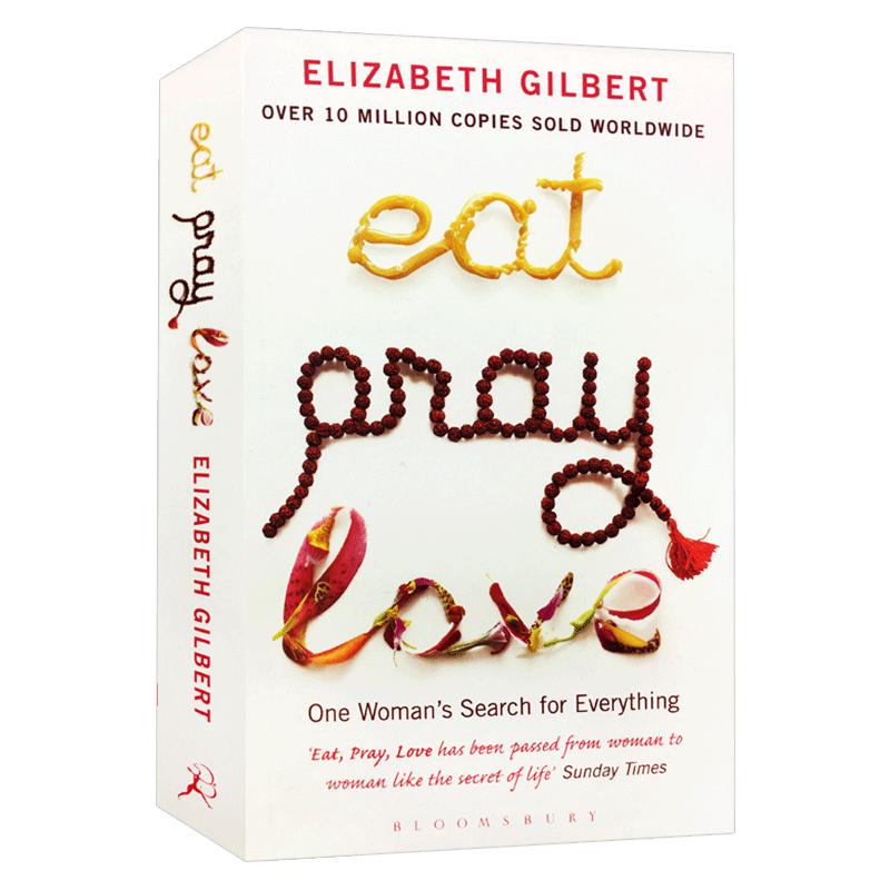 Original Popular Books Eat Pray Love Elizabeth Gilbert Books For Young Adults Novel