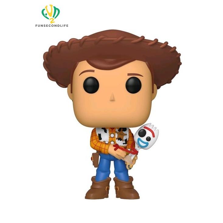 Woody Vinyl Figure Disney Toy Story Funko Pop Pocket Keychain