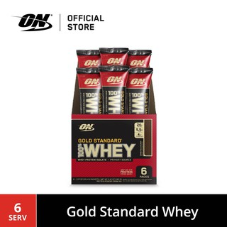 Optimum Nutrition Gold Standard Whey Stick Pack 6/C