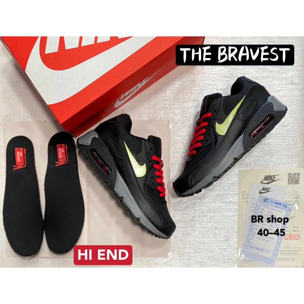 Original [Sneaker.Run] รองเท้าNike Air Max 90 สีดำ รองเท้ากีฬา รองเท้าวิ่ง รองเท้าผ้าใบชาย-หญิง สินค้าถ่ายจากงานจริง100%