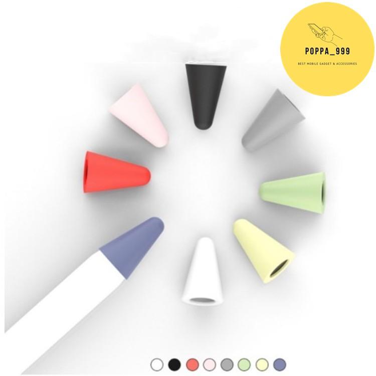 เคสหัวปากกา สำหรับApple Pencil 1/2 ปลอกซิลิโคนหุ้มหัวปากกา ปลอกซิลิโคน เคสซิลิโคน หัวปากกา จุกหัวปากกา case tip cover