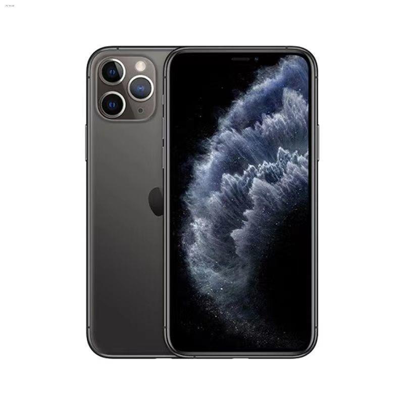 ❄☈❈Apple/Apple 11ProMax US version สามเครือข่ายเปิดใช้งาน iPhone11Pro ไม่มีการล็อคมือถือ 4G โทรศัพท์