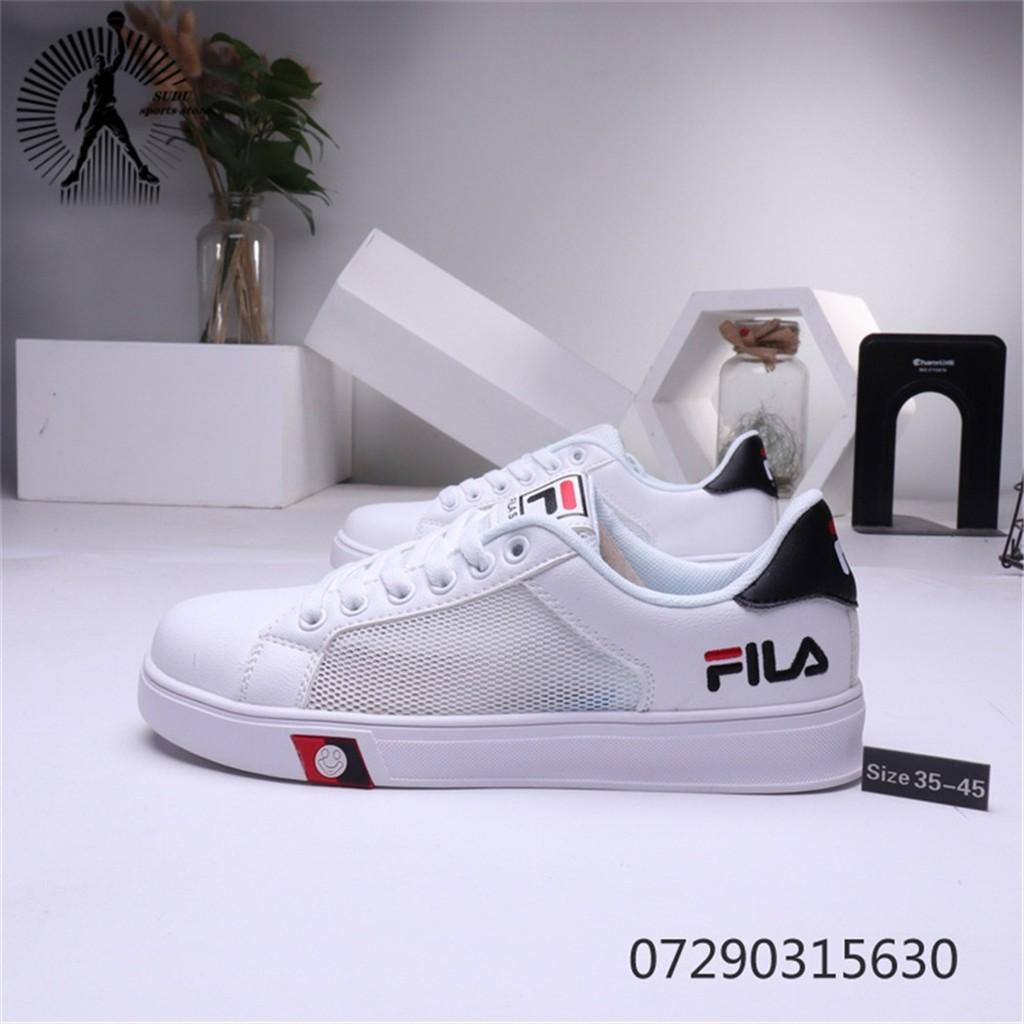 ของแท้จาก FILA รองเท้าผู้หญิงแฟชั่นรองเท้าผ้าใบรองเท้าวิ่งรองเท้าผู้ชาย167
