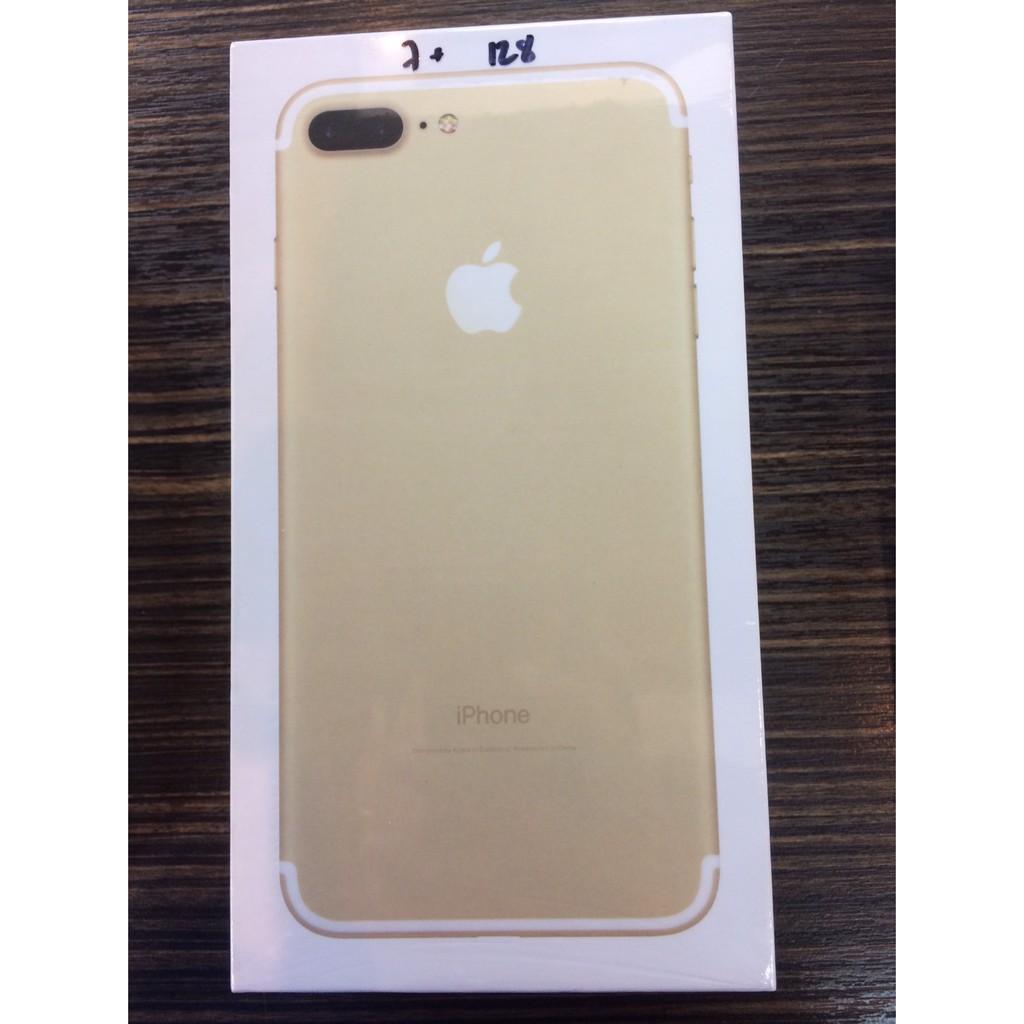 มือถือมือสองApple iphone 7Plus 128GB เครื่องใหม่แกะกล่อง ประกันร้าน 6 เดือน
