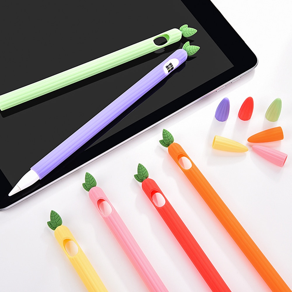 For Apple Pencil 1 2 Case Cover Universal Colorful for IPad Pencil Case Non-slip Protection Silicone For Apple Pencil 2 1 Sleeve