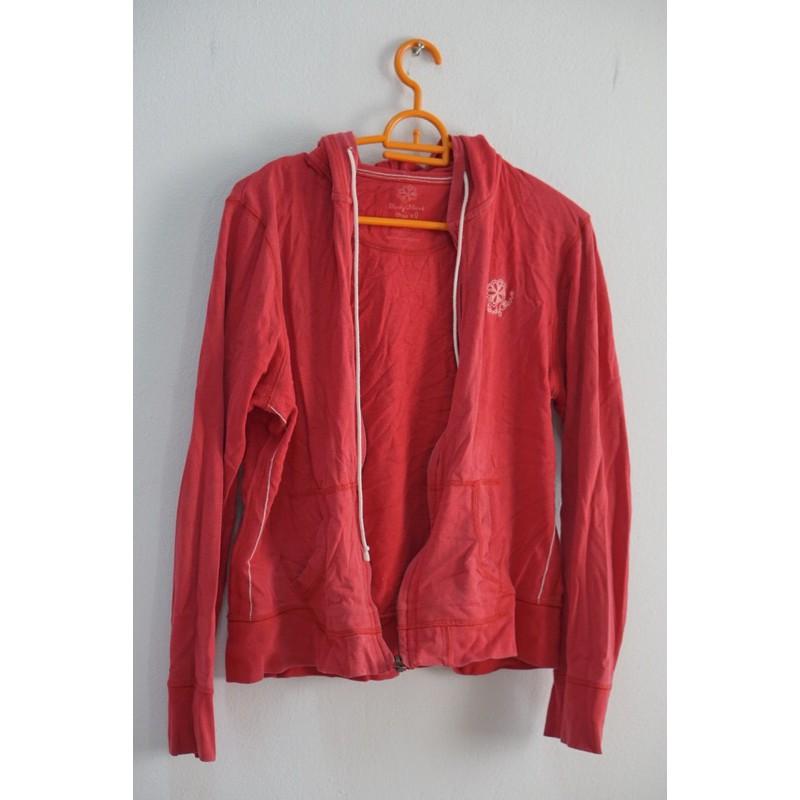 เสื้อกันหนาว body glove แขนยาว สีแดง