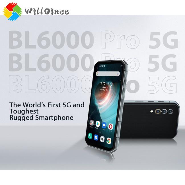 สมาร์ทโฟน Willoinee Cod Bl6000 Pro หน้าจอ 6.36 นิ้ว 48 มม. 5 กรัม 8Gb Ram 256Gb Ip68 กันน้ํา