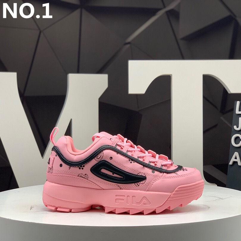 รองเท้าวิ่งผู้หญิง FILA ของรองเท้าวิ่งใหม่