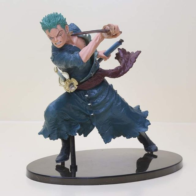 Anime One Piece Roronoa Zoro figure PVC Action Figure Collectible Model Toy approx 18cm