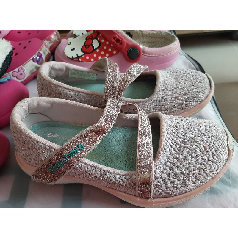 รองเท้าคัชชูเด็กผู้หญิง sketcher