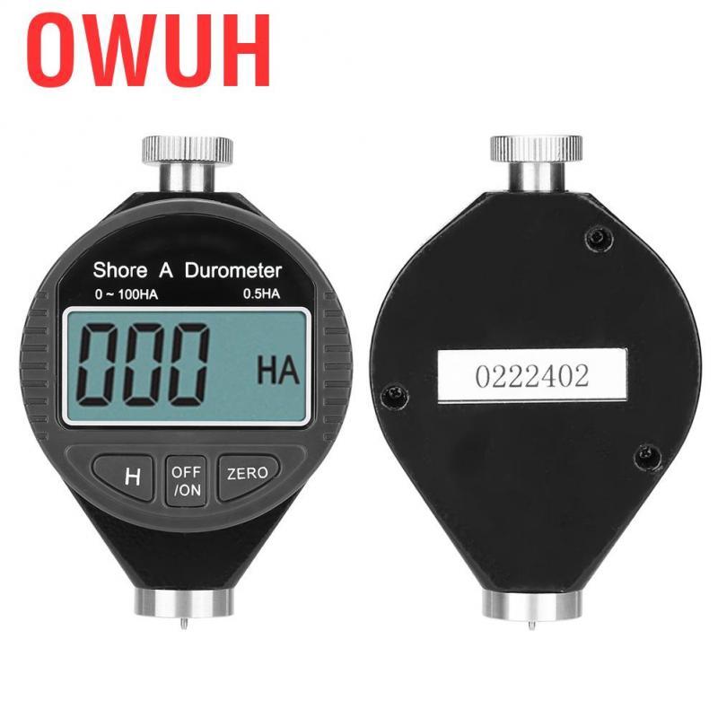 Owuh ดิจิตอล 100 HD A durometer shore ยางจอแสดงผล LCD