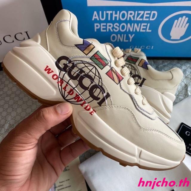 Gucci Rhyton worldwild PK God โรงงานผลิตต่างประเทศ