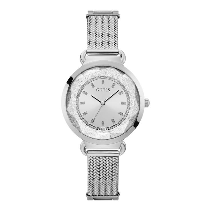 GUESS นาฬิกาข้อมือผู้หญิง Tessa สีเงิน