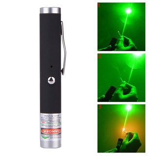(ส่งจากไทย)5mw laser pointer high power red blue green visible light powerful usb charging cat toy