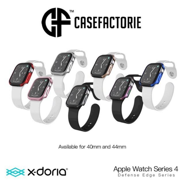 เคส applewatch X-Doria Defense EDGE Metal Guard เคสกันกระแทก สำหรับ Apple Watch Series4 40/44mm