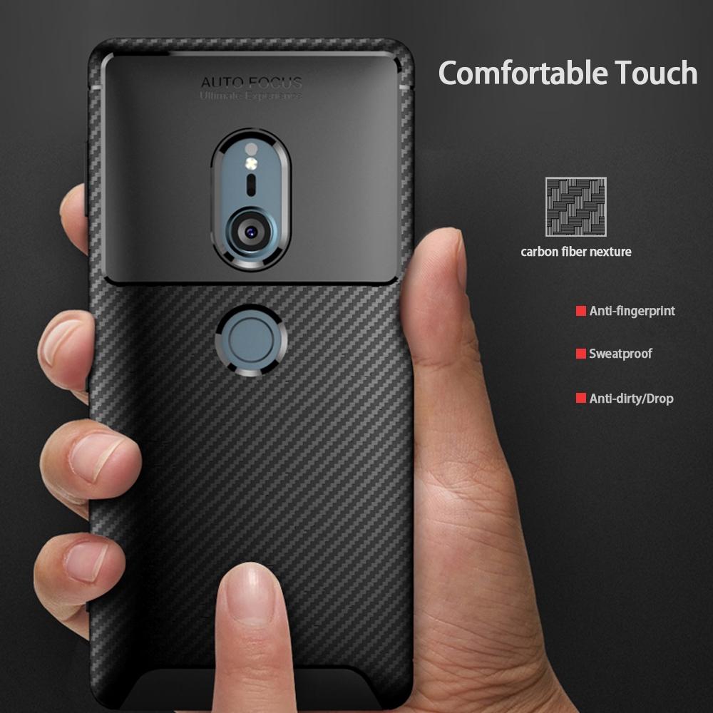 เคสโทรศัพท์โทรศัพท์ซิลิโคนแบบนุ่ม Sony Xperia Xz 2 Compact Xz 3 Xz 4 Compact Xperia 1