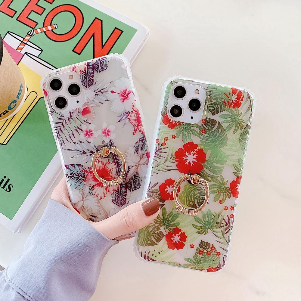 เคสโทรศัพท์มือถือแบบสองด้านสําหรับ iphone 6 6s 7 8 plus se xr 2 max