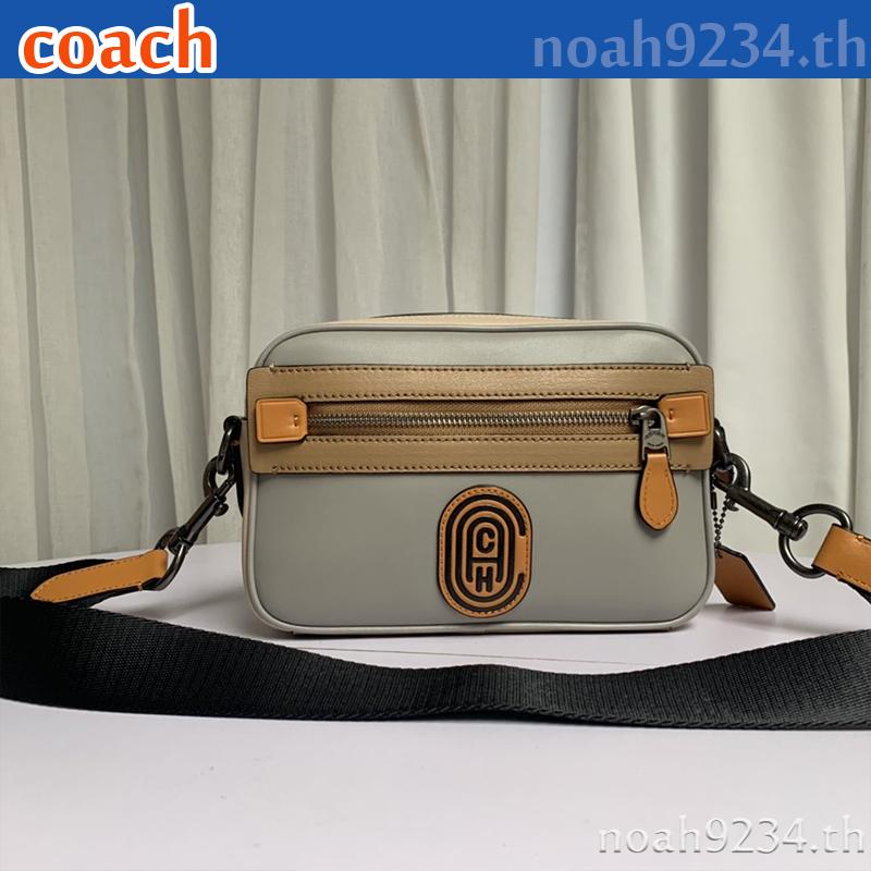 Coach กระเป๋าสะพายไหล่ / F960 / กระเป๋าสะพายข้างผู้ชาย / crossbody bag / กระเป๋ากล้อง / กระเป๋าสะพายข้าง