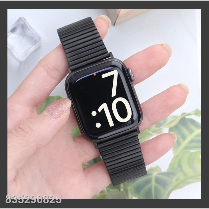 ▽สาย Applewatch เหล็กกล้า สายนาฬิกา Apple watch Series 6 5 4 3 2 1,Apple SE Strap Stainless Steel band size 38mm 40mm