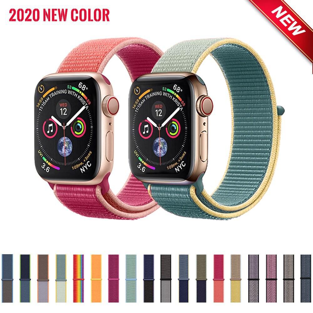 สาย applewatch แท้ สาย applewatch 📍พร้อมส่ง📍 สีใหม่ สาย S11 Apple watch sport loop