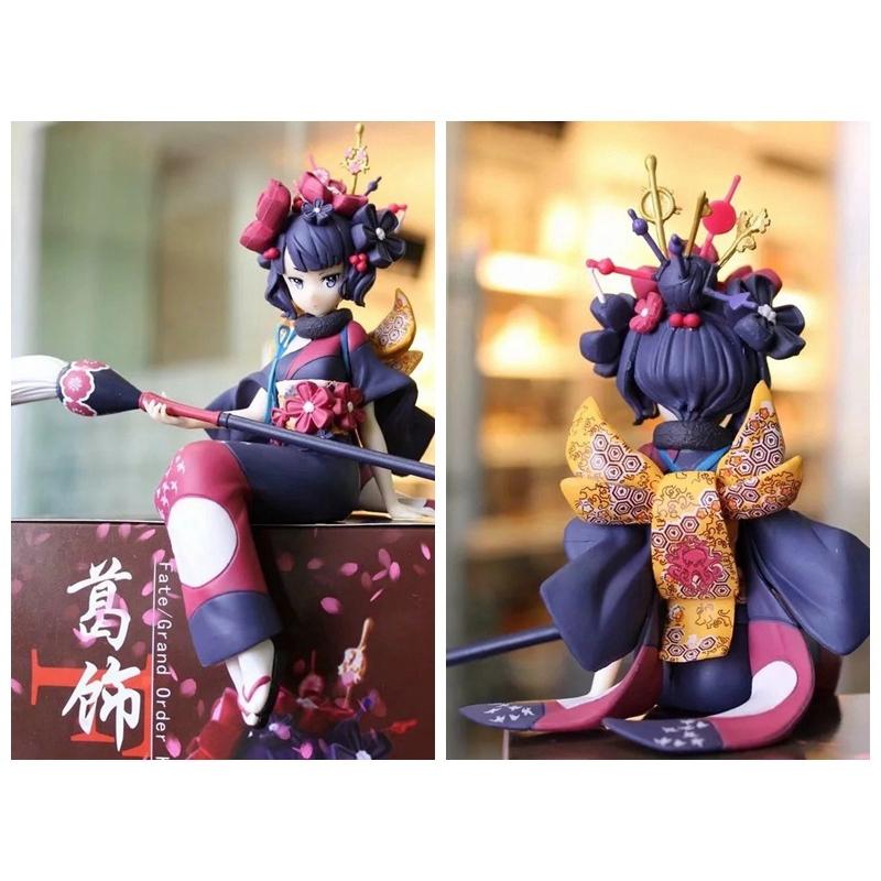 Anime Fate//Grand Order Cute Girl Noodle Stopper Katsushika Hokusai Figure No Box