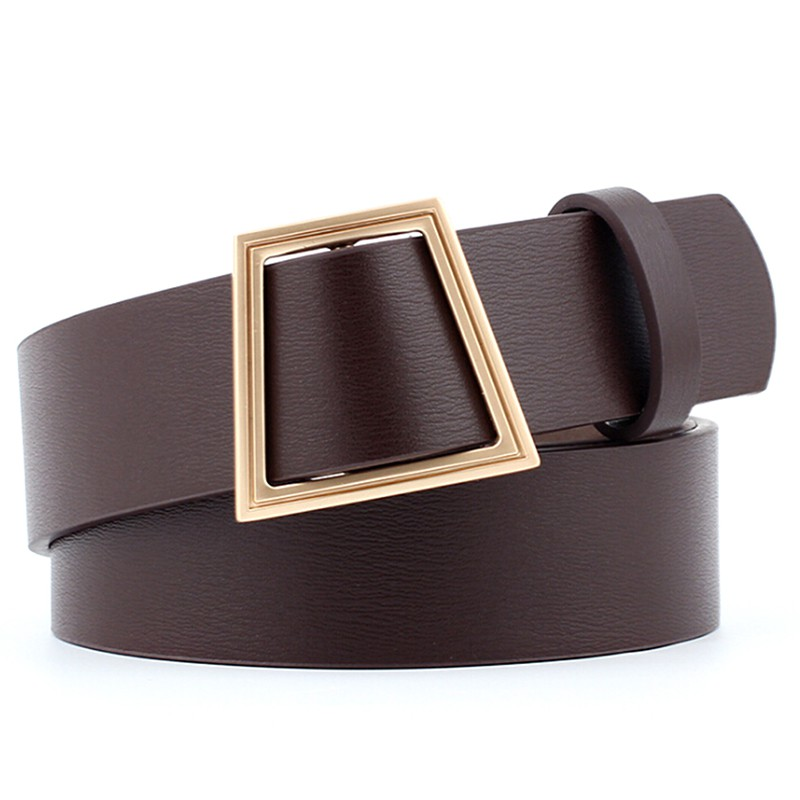 Kids Girls Boys Toddler Faux Leather Long Waistband Adjustable Buckle Retro Belt