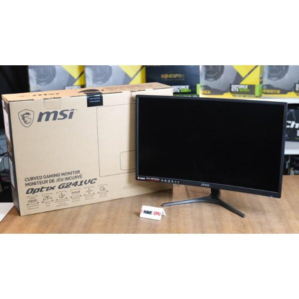 ♕MONITOR (จอมอนิเตอร์) MSI G241VC Curve Freesync Optix LED Gaming Monitor SKU-08076✺