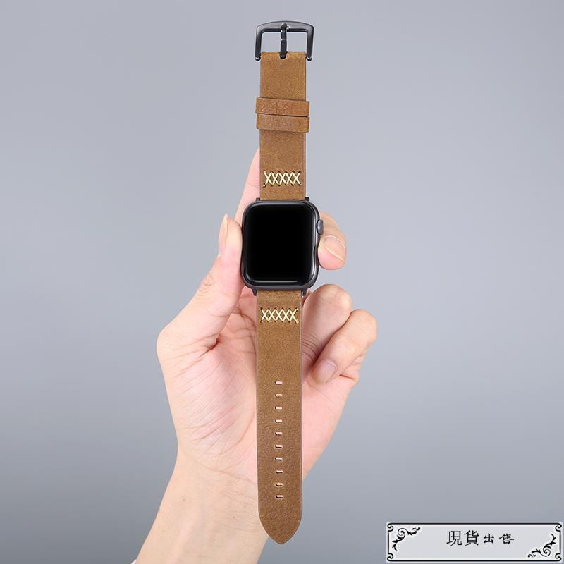 สายนาฬิกาข้อมือหนังสําหรับ Applewatch 1 / 2 / 3 / 4 / 5 / 6 / Se