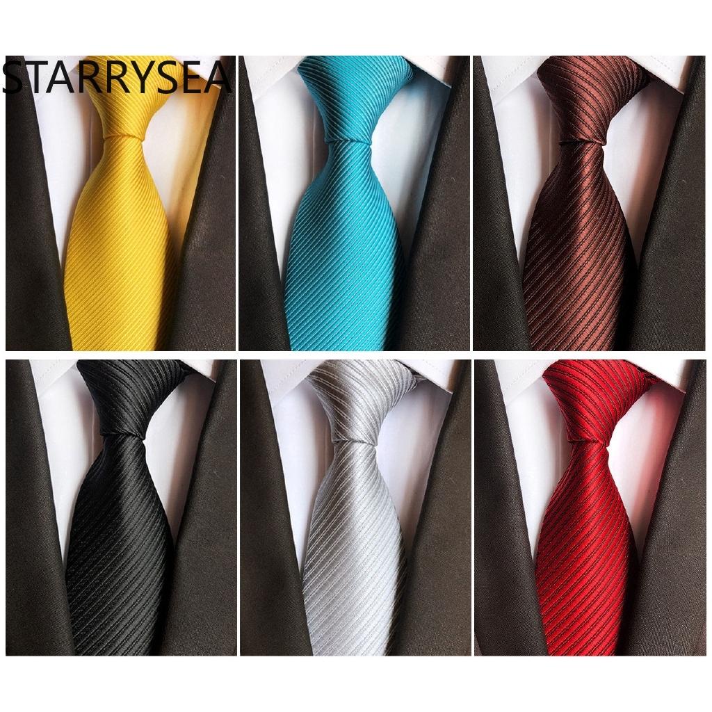 8CM Classic Patterns Black Blue White 100/% Silk Men/'s Necktie Neck Tie 3.15/'/'