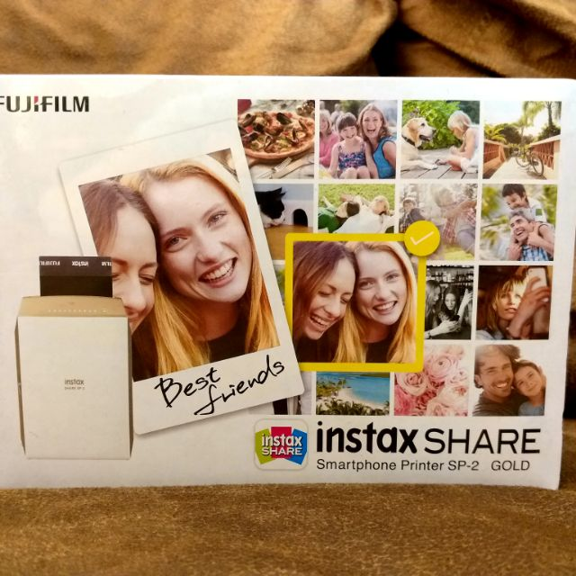 Fujifilm Instax Share SP-2 gold