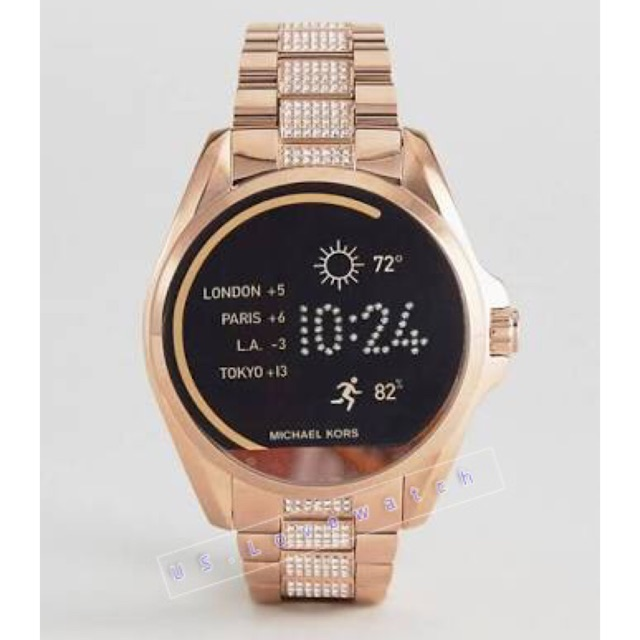 197fa2e8e144 Michael Kors Access Touchscreen Gold Acetate Bradshaw Smartwatch MKT5003