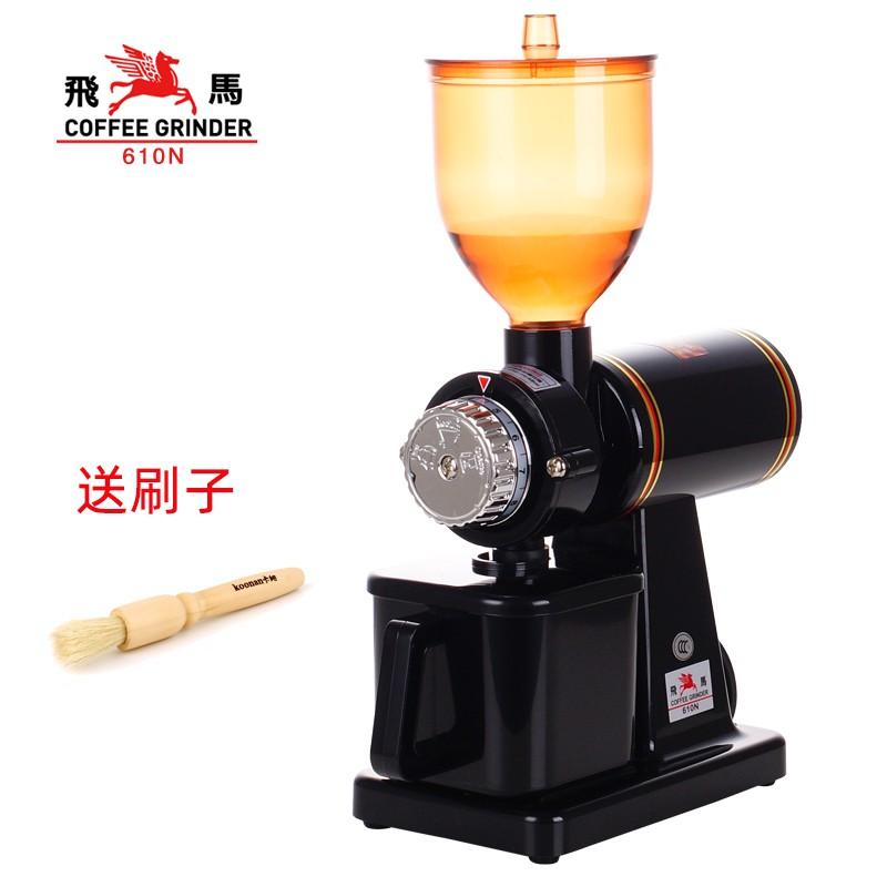 เตา moka pot♗☢☼Little Pegasus mill เครื่องทำถั่วกาแฟไฟฟ้าเชิงพาณิชย์ฟันผีครัวเรือนอิตาลีผลิตภัณฑ์เดียวเมล็ดกาแฟเครื่องบด