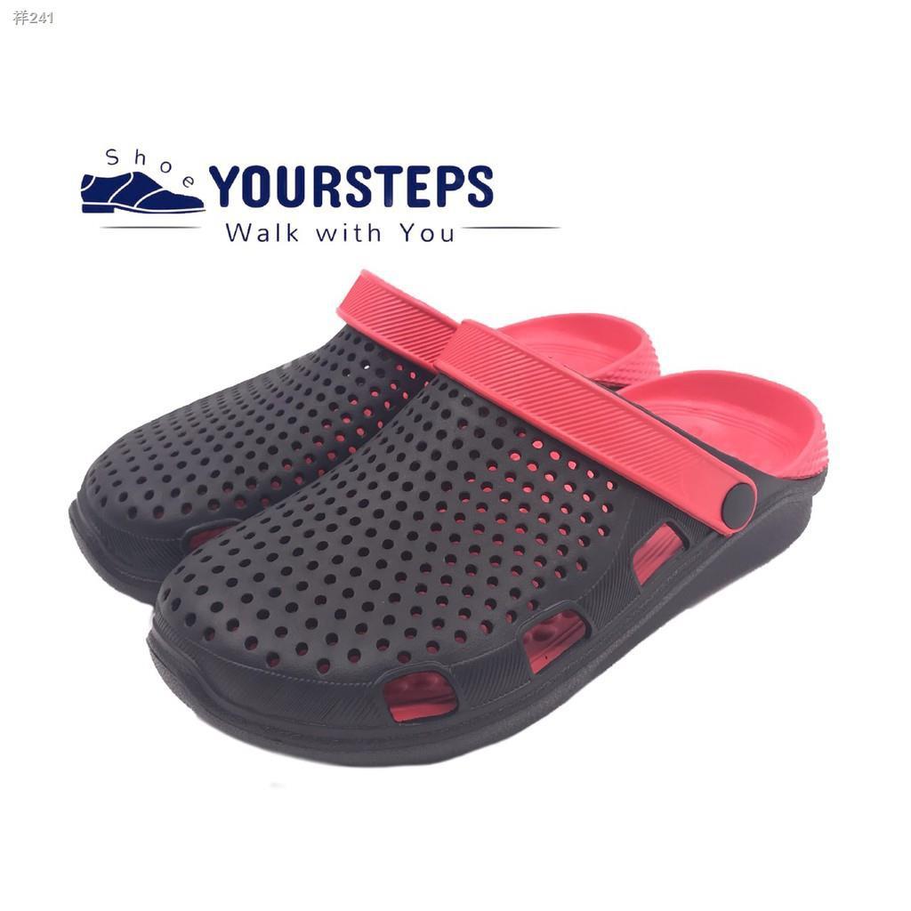 ✶ส่ง ค่าส่ง 28฿! รองเท้าแตะผู้ชาย แบบสวม สไตล์สุดฮิต รุ่นCRO729