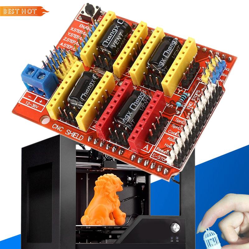 BES V3 Engraver 3D Printer Writer CNC Expansion Board A4988 Driver For  Arduino