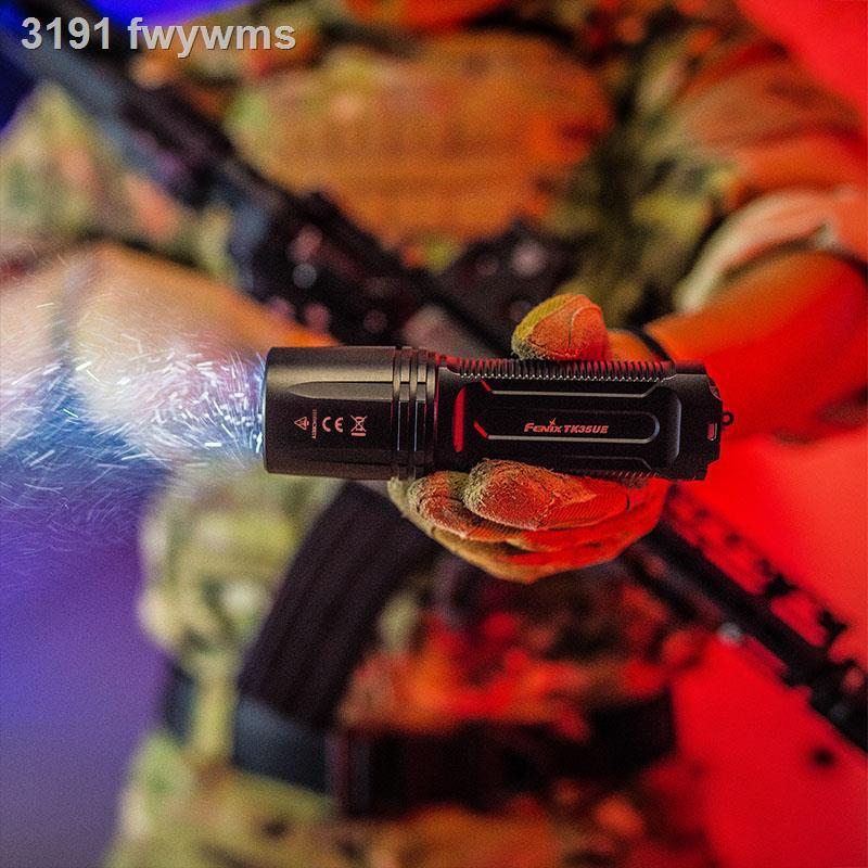 ไฟฉายมัลติฟังก์ชั่✶✢ไฟฉาย Fenix Phoenix Tk35UE 18650 ไฟกลางแจ้ง USB ไวน์ภาพถ่ายที่สว่างเป็นพิเศษในระยะยาวแบบชาร์จไฟได้