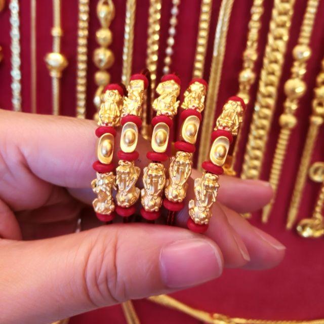 ปี่เซียะทองแท้ 99.99% นำเข้าจากฮ่องกง ปี่เซียะมั่งมีเงินทอง เฮงๆรวยๆ ยาว 15-19 cm. ราคา 2,790 บาท