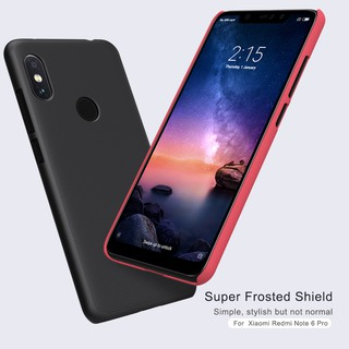 Review NILLKIN เคส Xiaomi Redmi Note 6 Pro รุ่น Super Frosted Shield