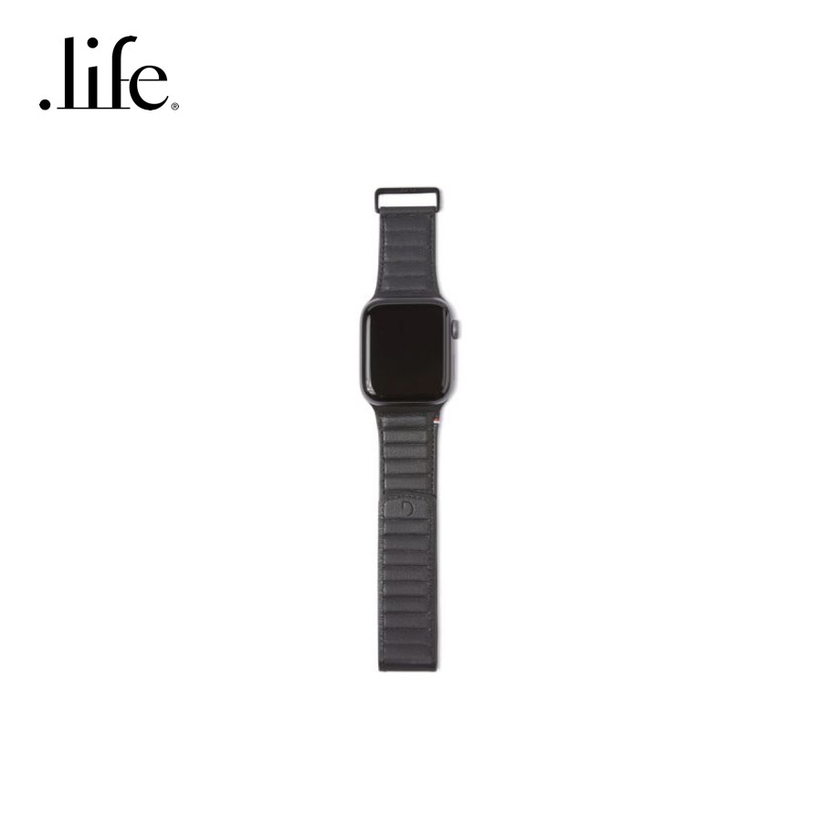 ✳DECODED สายนาฬิกา Leather Magnetic Traction Strap for Apple Watch Series 5/4 [44mm] / 3/2/1 [42mm] by dotlife