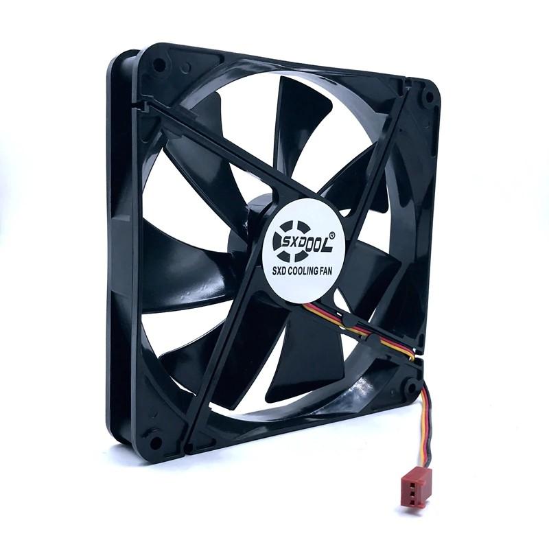 best quality cooling fan 120mm fan bequiet silentwings BQT T12025-HF computer case axial cooling fan 2600RPM